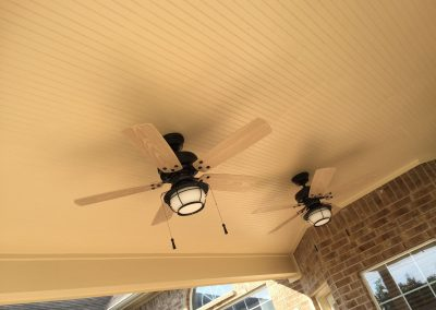 beaded-ceiling-with-ceiling-fans