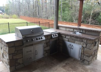 Outdoor-Kitchen-Granite-Counter-BBQ-Grill-Side-Burner-Sink-Bar-Top-Montgomery-Magnolia-Conroe-The-Woodlands-Spring (2)