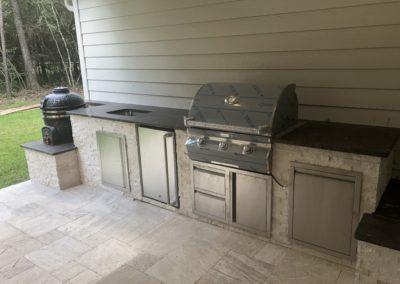 Outdoor-Kitchen-Granite-Counter-BBQ-Grill-Side-Burner-Sink-Bar-Top-Refrigerator-Smoker-Pedestal-Drawers-Montgomery